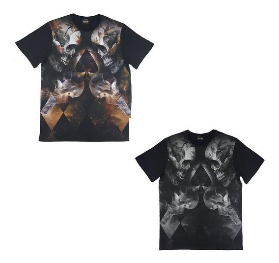 Camiseta Mcd Transfer Spade 2051 + Adesivos Mcd