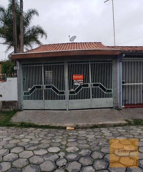 Casa Térrea Em Boa Localização No Jardim Emília - Ca1495