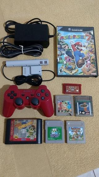 Lote Game Cube, Game Boy, Mega Drive E Ps3