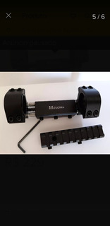 Mount Absorção De Impacto 20mm Sem Folga + Adaptador P/ 11mm