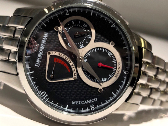 Relógio Automático Com Reserva De Marcha 44mm Completo