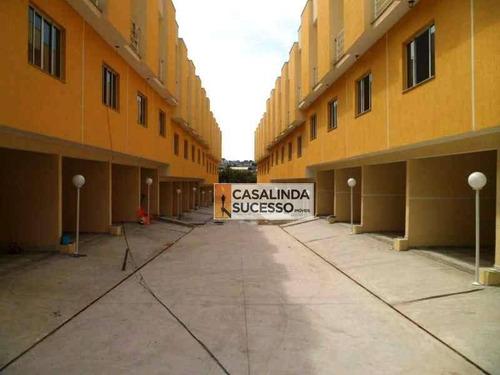 Sobrado Com 2 Dormitórios À Venda, 104 M² Por R$ 340.000,00 - Vila Ré - São Paulo/sp - So0706