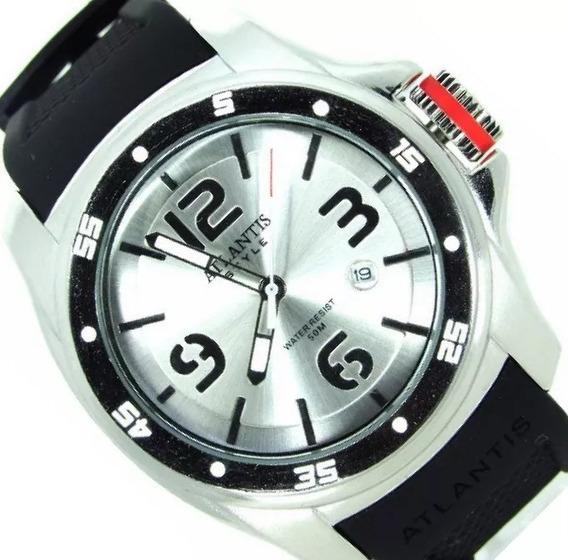 Relógio Masculino Esportivo Digital Original Quartz Aço Inox