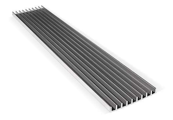 Disipador De Aluminio Liviano - 1 Metro