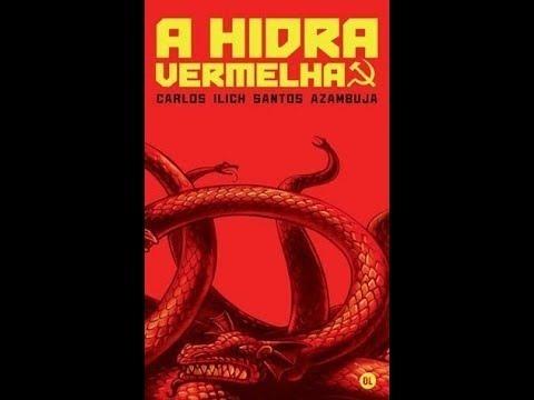 Hidra Vermelha Carlos Azambuja - Livro De Bolso