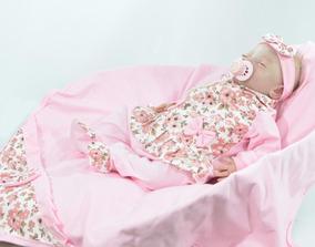 Kit Saida De Maternidade Sofia Rosa - Para Meninas