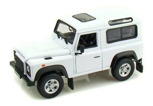 Miniatura Carro Land Rover Defender 1:24 Welly 22498
