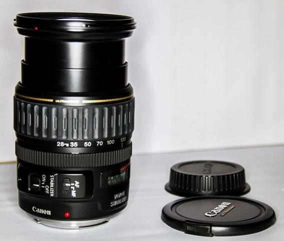 Lente Canon Ef 28-135 Mm Is Usm Macro