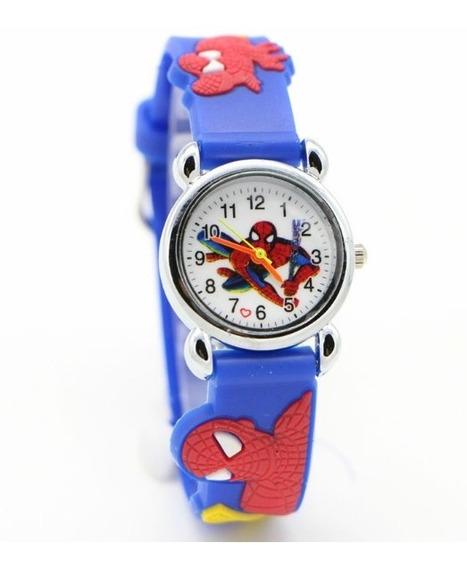 Relógio Infantil Meninos/meninas Vários Personagens Cód.107