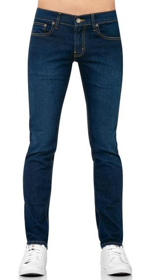* Jeans De Mezclilla Stretch Oggi Skinny Fit En 3 Colores