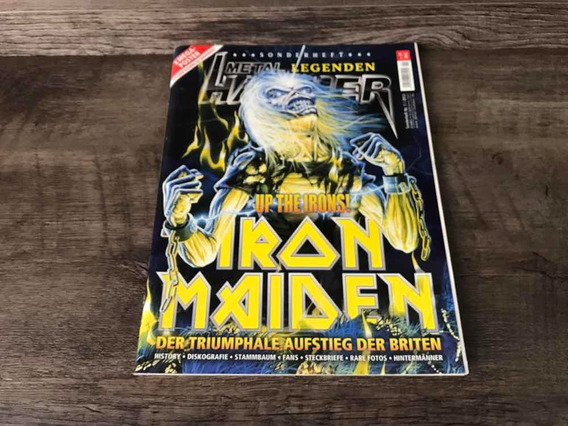 Iron Maiden - Metal Hammer Magazine 2013