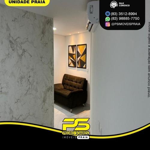 Apartamento Com 2 Dormitórios À Venda, 68 M² Por R$ 2.200 - Bessa - João Pessoa/pb - Ap4425
