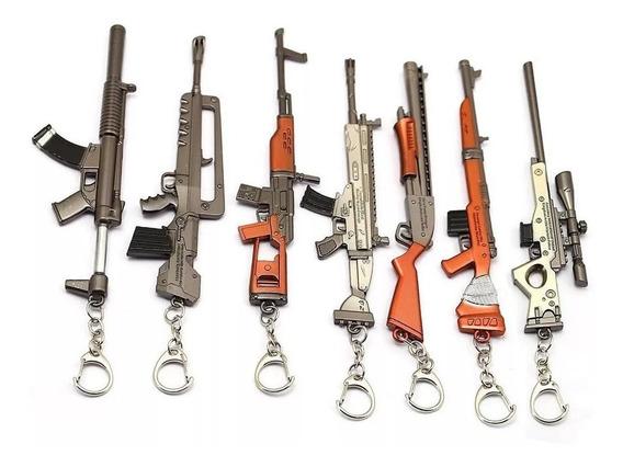 Fortnite Llaveros Armas 100% Metal 12 Cm Originales