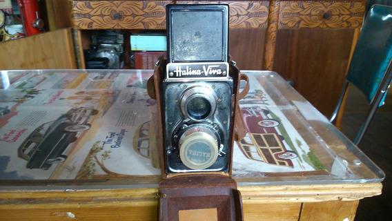 Camera Fotografica Antiga Halina Viva