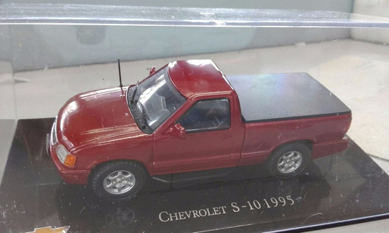 Miniatura Chevrolet Pick Up S10 -escala 1:43 (única)