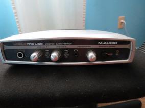 Placa Interface Mobile Pre M Audio Usb 2.0 2x2 Canais
