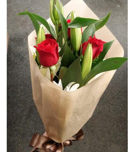 Imagen 1 de 8 de 20 Hojas De Papel Kraft Para Envolver Flores Regalos 60x60cm