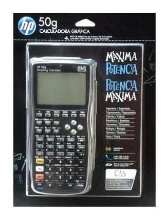 Calculadora Gráfica Hp 50g + Case Original 1 Ano De Garantia
