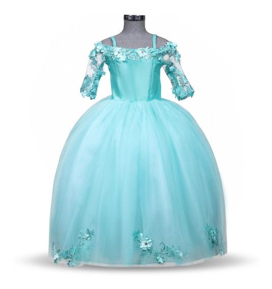 Vestido De Niña Fiesta Elegante Modelo 784