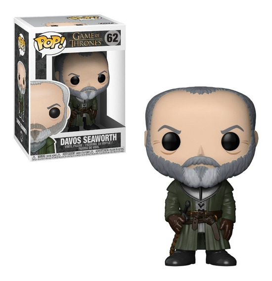 Figura Funko Pop 62 Davos - Game Of Thrones Oferta!
