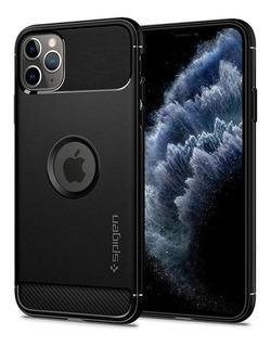 Capa Spigen | iPhone 11 Pro Max | Rugged Armor Matte Black
