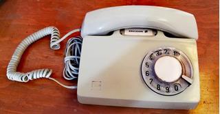 Teléfono Ericsson Diavox De Disco Color Gris