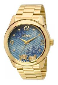 Relógio Condor Feminino Co2039ad/4a - Azul Lindo Aproveite