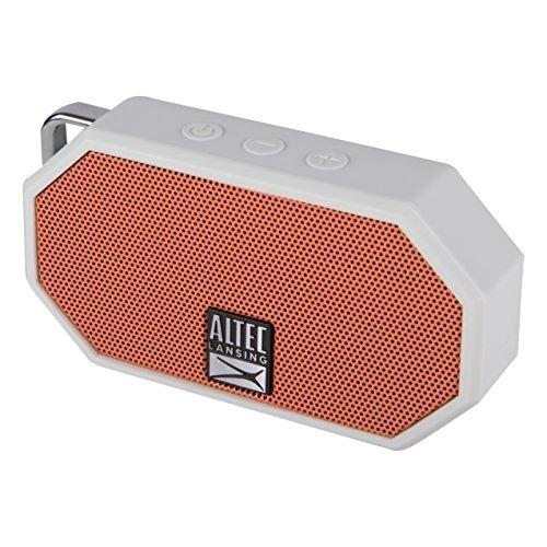 Altavoz Impermeable Altec Mini H2o Bluetooth Naranja Imw257-