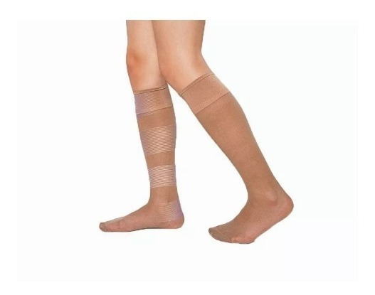 Medias Cocot 3/4 Lycra Descanso Ideal Varices Mujer Art.220