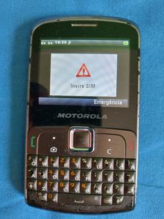 Motokey Ex115 Motorola Usado Ótimo Estado Funcionando