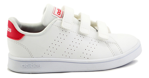 Tenis adidas Para Niña Ef0221 Blanco [add1341]