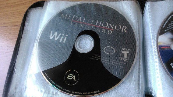 Wii - Medal Of Honor Vanguard - Original - Somente O Cd