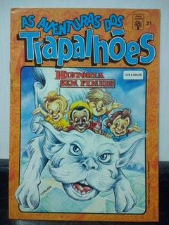 Hq Aventuras Trapalhoes 31 C/ Mini Poster - Abril 1992 Rjhm