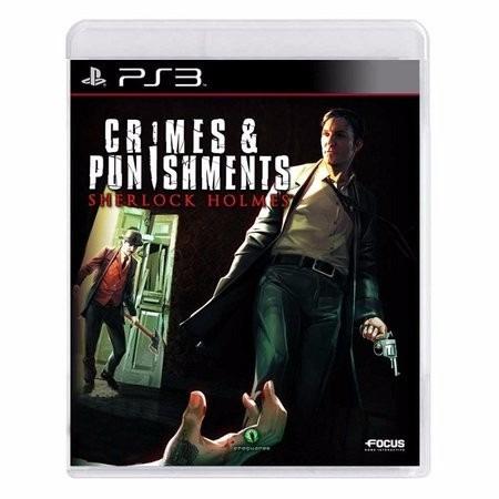 Jogo Ps3 Sherlock Holmes Crimes & Punishments