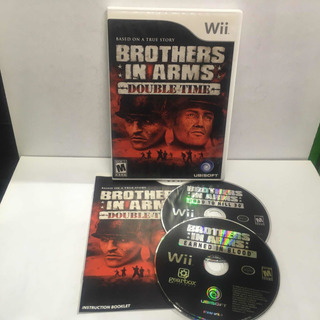 Nintendo Wii Brothers In Arms Double Time