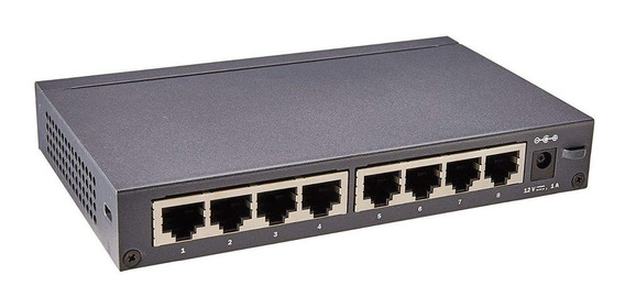 Switch Hp 1420 8 Jh329a Hpe 8 Puertos Gigabit Mg