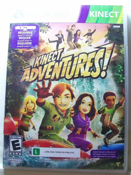Kinect Adventures, Jogo Xbox 360, Com Manual Original