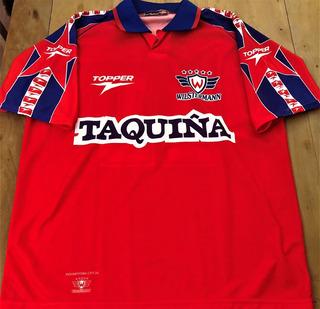 Camisa Jorge Wilstermann Usada Em Jogo 1997/98