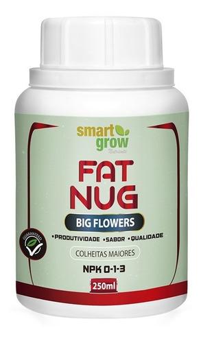 Imagem 1 de 10 de Fertilizante Smartgrow Fat Nug 250ml Flores Maiores Big Bud