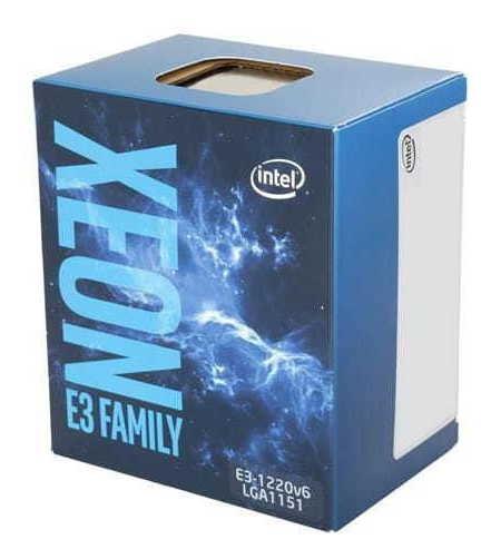Processador Intel Xeon E3-1220v6 (1151) 3.00 Ghz Box - Bx80
