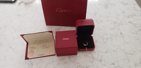 Anillo Cartier Love Oro Y Brillantes Cartier Tiffany Tous Ch