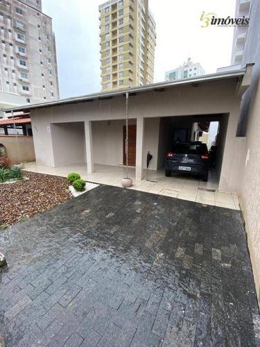 Casa Á Venda Com 4 Quartos Sendo 1 Suíte E 2 Vagas De Garagem, Vila Operaria, Itajaí - Ca0364