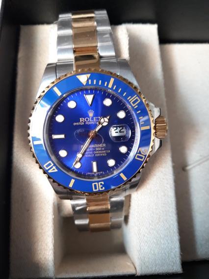 Relógio Automático Submariner Azul!