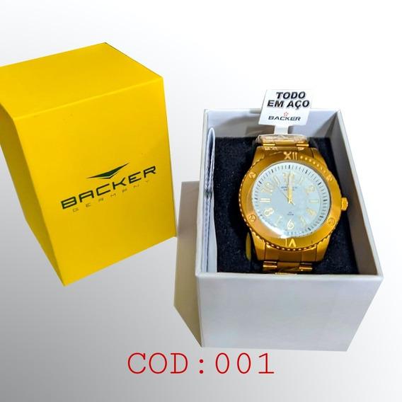 Relógio Backer Modelo Feminino E Masculino.