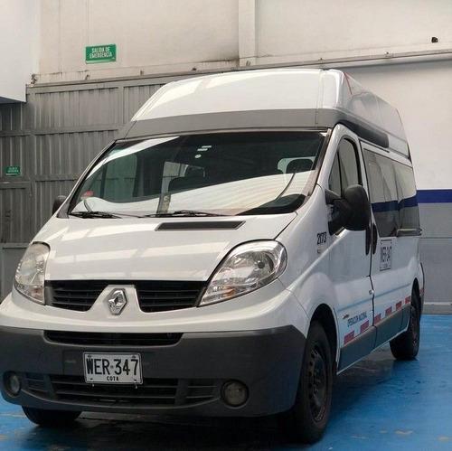 Van Microbus Renault Trafic 12 Pasajeros Diesel 2.0