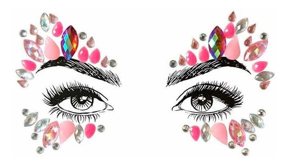 Gemas Piedras Adhesivas Rostro Maquillaje Artístico Fiesta