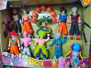 Goku, Dragon Ball Super, 9 Muñecos Mas Shen Long