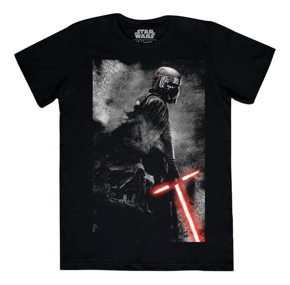 Playera Kylo Ren Máscara De Látex Star Wars