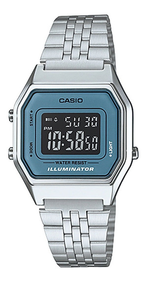 Relógio Casio Original Unisex Vintage La680wa-2bdf Com Nota