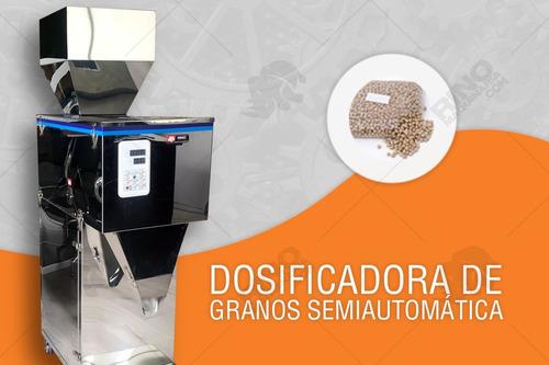 Maquina Dosificadora Semiautomática De Granos